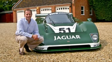 Martin Brundle life in cars