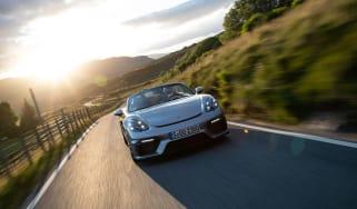 Porsche 718 Boxster Spyder - header