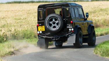 Twisted Land Rover Defender rear corner