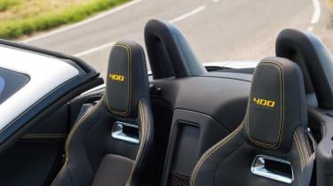 Jaguar F-type 400 Sport seats