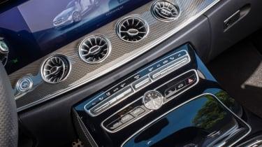 Mercedes-Benz E400 4Matic Cabriolet - Climate controls