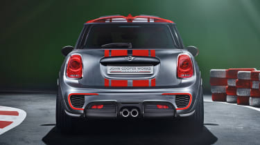 New Mini John Cooper Works Concept rear diffuser