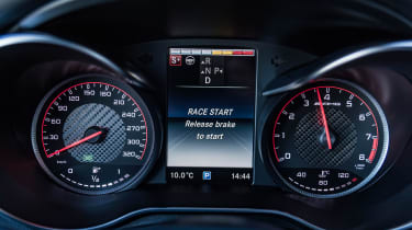 Mercedes-AMG GLC 63 S - dials