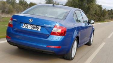 2013 Skoda Octavia rear view