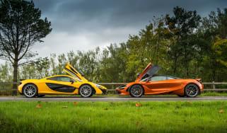 McLaren P1 vs McLaren 720S