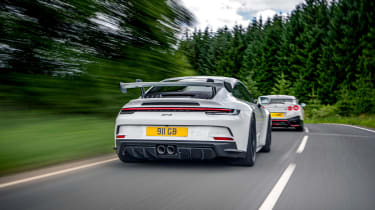 992 GT3 group test – 911 rear tracking