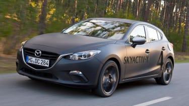 Mazda Skyactive X prototype - driving