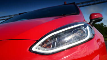 Ford Fiesta ST-Line UK - lights