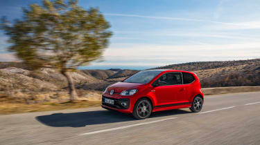 Volkswagen Up GTI 2018 side pan
