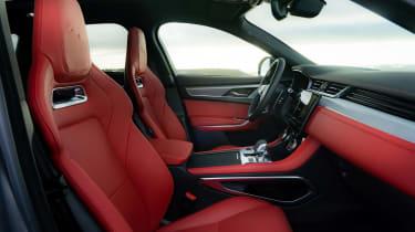 Jaguar F Pace 2021 review - P400 cabin