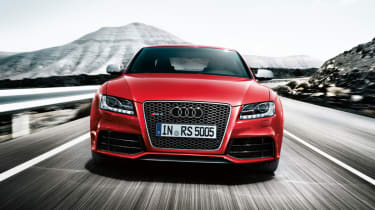 Audi RS5 front action