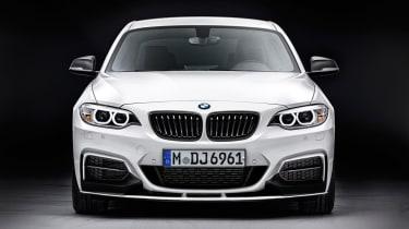 BMW announces 2-series M Performance front