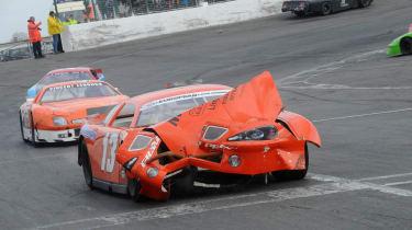 Roger Green NASCAR V8 racing