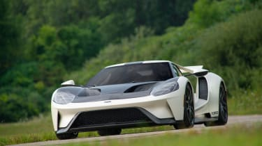 Ford GT Heritage Edition - front