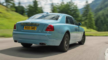 2014 Rolls-Royce Ghost Alpine Trial Centenary Collection rear