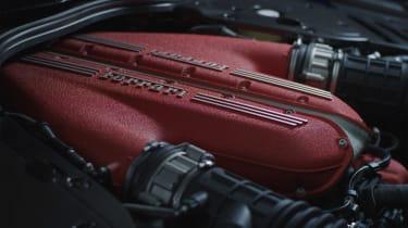Ferrari 812 Competizione engine