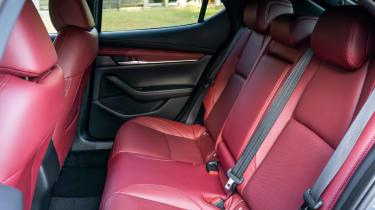New Mazda 3 Skyactiv-X 2019 review rear seats
