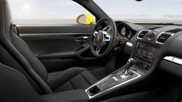 2013 Porsche Cayman S interior dashboard