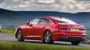 Audi A6 Saloon S-Line - rear quarter