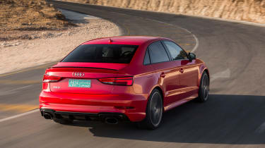 Audi RS3 Saloon Red rear 2
