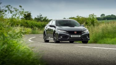 Honda Civic Type R Sport Line – front action