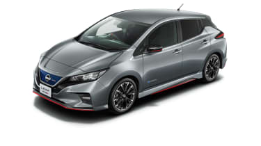 Nissan Leaf Nismo grey with body-colour roof