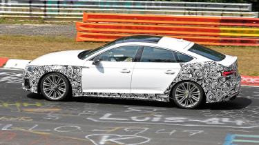 Audi S5 TDI Spy - profile