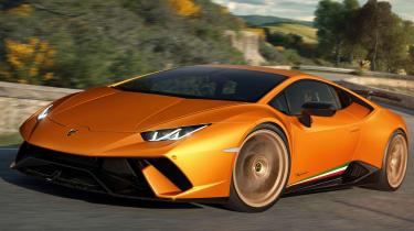 Lamborghini Huracan Performante - front three quarter