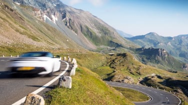 Aston Martin DBS Superleggera drive - rear