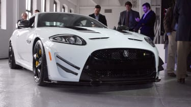 New Jaguar XKR-S GT unveiled at New York auto show