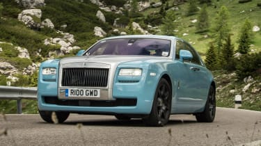 2014 Rolls-Royce Ghost Alpine Trial Centenary Collection blue