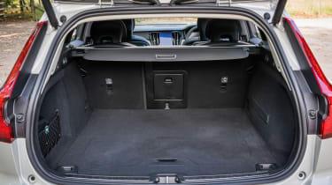 Volvo V60 interior boot