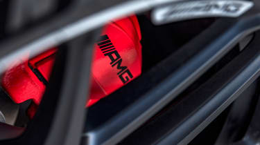 Mercedes-AMG GLC 63 S - brakes