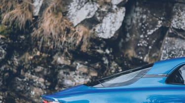 Alpine A110 - rear side profile