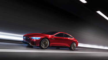 Mercedes-AMG GT Concept driving 2