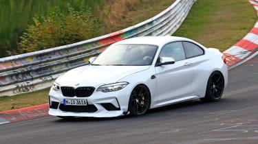 BMW M2 CS prototype - front