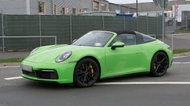 Porsche 911 Targa spy -