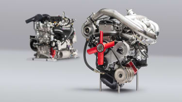 50 years of turbocharged BMW competition engines