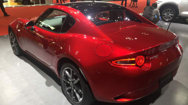 Mazda MX-5 RF Tokyo 2017 – rear