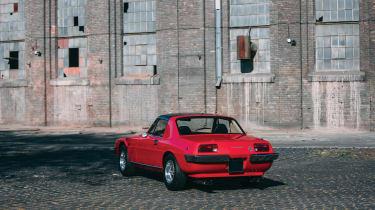 Ferrari 330 GTC Zagato - rear