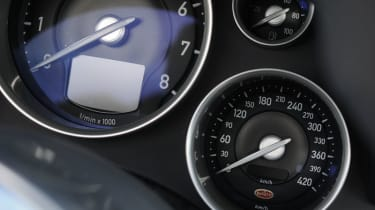 Bugatti Veyron Grand Sport dashboard