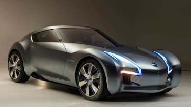 Nissan Esflow sports car