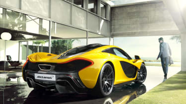 McLaren P1 to appear at Goodwood