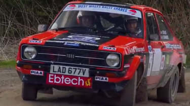 Ford Escort RS1800 rally car Goodwood Festival of Speed