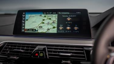 BMW 6-series GT - interior screen