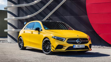 Mercedes-AMG A35 - front static