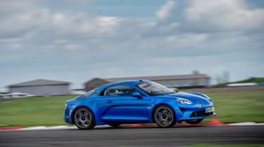 evo Supertest A110 vs rivals - A110 track