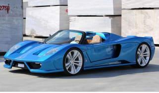 Montecarlo Rascasse supercar blue