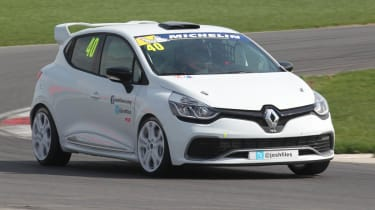 New Renault Clio Cup racer Snetterton lap record