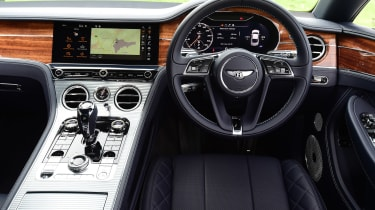 Bentley Continental GT UK drive - interior